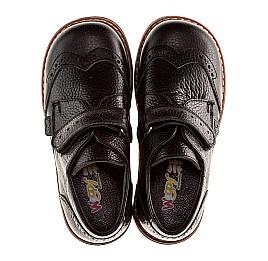 Детские ортопедические туфли Woopy Orthopedic черный для мальчиков натуральная кожа размер - (1118) Фото 5