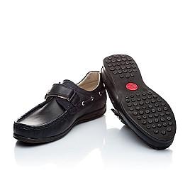Детские туфли Woopy Orthopedic синий для мальчиков натуральная кожа размер - (1363) Фото 2