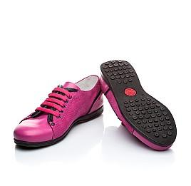 Детские туфли Woopy Orthopedic розовый для девочек натуральная кожа размер - (1366) Фото 3