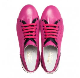 Детские туфли Woopy Orthopedic розовый для девочек натуральная кожа размер - (1366) Фото 5
