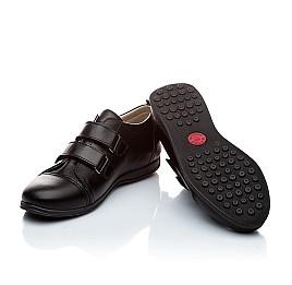 Детские туфли Woopy Orthopedic черный для мальчиков натуральная кожа размер - (1393) Фото 2