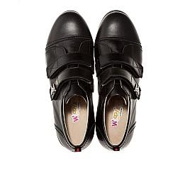 Детские туфли Woopy Orthopedic черный для мальчиков натуральная кожа размер - (1393) Фото 3