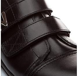 Детские туфли Woopy Orthopedic черный для мальчиков натуральная кожа размер - (1393) Фото 4