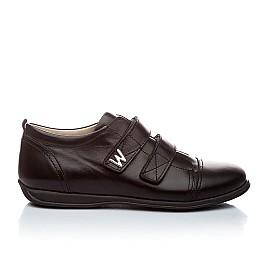 Детские туфли Woopy Orthopedic черный для мальчиков натуральная кожа размер - (1393) Фото 5