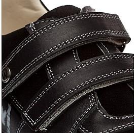 Детские туфли Woopy Orthopedic черный для мальчиков натуральная кожа размер - (1401) Фото 4