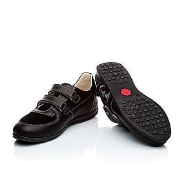 Детские туфли Woopy Orthopedic черный для мальчиков натуральная кожа размер - (1401) Фото 5