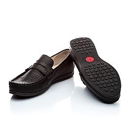 Детские туфли Woopy Orthopedic черный для мальчиков натуральная кожа размер - (1420) Фото 2