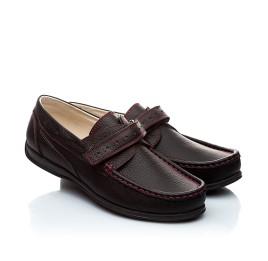 Детские туфли Woopy Orthopedic черные для мальчиков натуральная кожа размер - (1423) Фото 1
