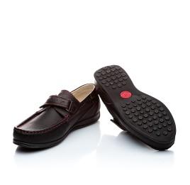 Детские туфли Woopy Orthopedic черные для мальчиков натуральная кожа размер - (1423) Фото 2