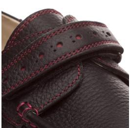Детские туфли Woopy Orthopedic черные для мальчиков натуральная кожа размер - (1423) Фото 4