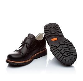 Детские ортопедические туфли Woopy Orthopedic черный для мальчиков натуральная кожа размер - (1623) Фото 2