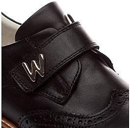 Детские ортопедические туфли Woopy Orthopedic черный для мальчиков натуральная кожа размер - (1623) Фото 4