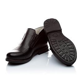 Детские туфли Woopy Orthopedic черный для мальчиков натуральная кожа размер - (1624) Фото 4