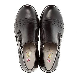 Детские туфли Woopy Orthopedic черный для мальчиков натуральная кожа размер - (1624) Фото 5