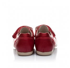 Детские мокасины Woopy Orthopedic красный для девочек натуральная кожа размер 21-21 (1663) Фото 2