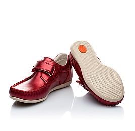 Детские мокасины Woopy Orthopedic красный для девочек натуральная кожа размер 21-21 (1663) Фото 4
