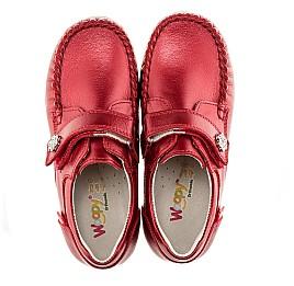 Детские мокасины Woopy Orthopedic красный для девочек натуральная кожа размер 21-21 (1663) Фото 5