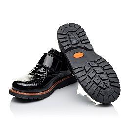 Детские туфли Woopy Orthopedic черные для девочек натуральная лаковая кожа размер 29-29 (1693) Фото 2