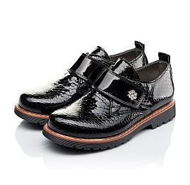 Детские туфли Woopy Orthopedic черные для девочек натуральная лаковая кожа размер 29-29 (1693) Фото 3