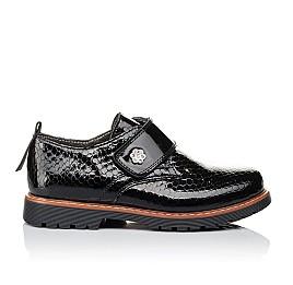 Детские туфли Woopy Orthopedic черные для девочек натуральная лаковая кожа размер 29-29 (1693) Фото 4
