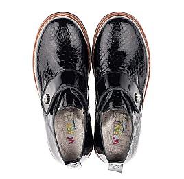 Детские туфли Woopy Orthopedic черные для девочек натуральная лаковая кожа размер 29-29 (1693) Фото 5