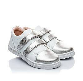Детские туфли Palaris белый для девочек натуральная кожа размер - (1745) Фото 1