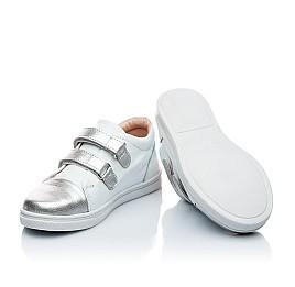 Детские туфли Palaris белый для девочек натуральная кожа размер - (1745) Фото 5