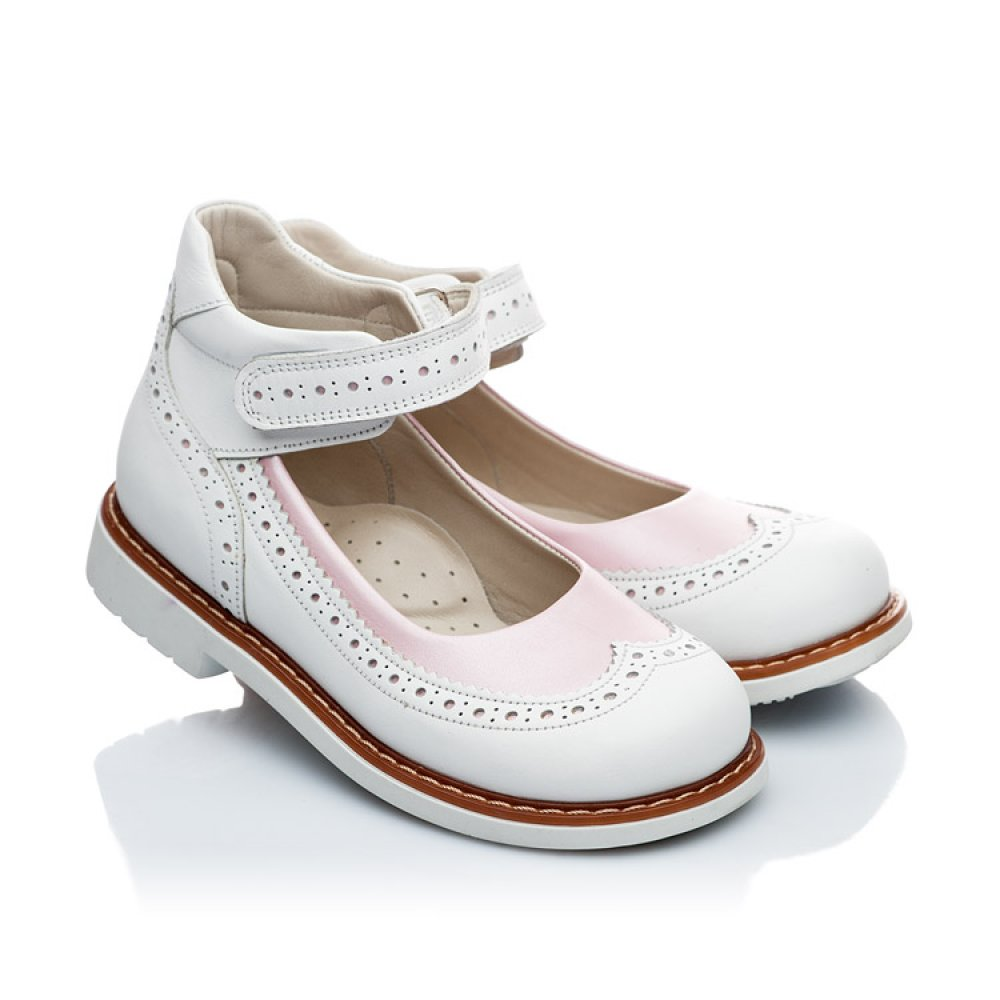a7df606c3 Tap to expand · Детские ортопедические туфли Woopy Orthopedic белые, розовые  для девочек натуральная кожа размер 21-36