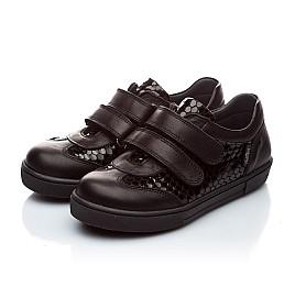 Детские туфли Woopy Orthopedic черный для девочек натуральная кожа размер - (1867) Фото 3