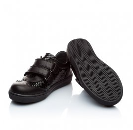Детские туфли Woopy Orthopedic черный для девочек натуральная кожа размер - (1867) Фото 4