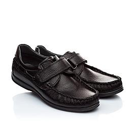 Детские туфли Woopy Orthopedic черный для мальчиков натуральная кожа размер - (1873) Фото 1
