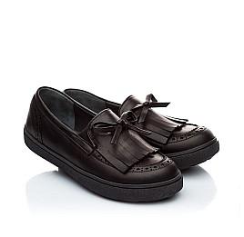 Детские туфли Woopy Orthopedic черный для девочек натуральная кожа размер - (1879) Фото 1