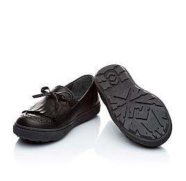 Детские туфли Woopy Orthopedic черный для девочек натуральная кожа размер - (1879) Фото 4