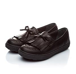 Детские туфли Woopy Orthopedic черный для девочек натуральная кожа размер - (1879) Фото 5