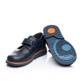 Детские туфли Woopy Orthopedic синие для мальчиков натуральная кожа размер 21-21 (1901) Фото 5