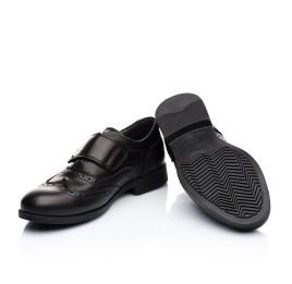 Детские туфли Woopy Orthopedic черный для мальчиков натуральная кожа размер - (1903) Фото 5