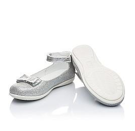 Детские туфлі Woopy Orthopedic серебро для девочек современный текстиль размер 21-21 (1906) Фото 2