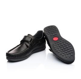 Детские туфли Woopy Orthopedic черные для мальчиков натуральная кожа размер 32-32 (1921) Фото 2
