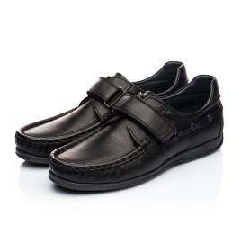 Детские туфли Woopy Orthopedic черные для мальчиков натуральная кожа размер 32-32 (1921) Фото 3
