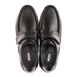 Детские туфли Woopy Orthopedic черные для мальчиков натуральная кожа размер 32-32 (1921) Фото 4