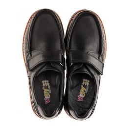 Детские туфли Woopy Orthopedic черный для мальчиков натуральная кожа размер - (1922) Фото 2