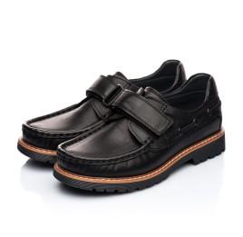 Детские туфли Woopy Orthopedic черный для мальчиков натуральная кожа размер - (1922) Фото 3