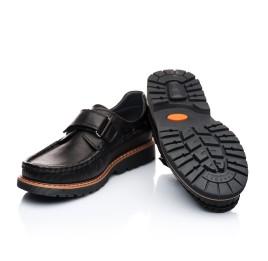 Детские туфли Woopy Orthopedic черный для мальчиков натуральная кожа размер - (1922) Фото 5