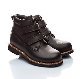 Детские зимние ботинки на меху Woopy Orthopedic черный для мальчиков натуральная кожа размер - (2005) Фото 1