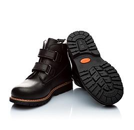 Детские зимние ботинки на меху Woopy Orthopedic черный для мальчиков натуральная кожа размер - (2005) Фото 2