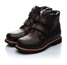Детские зимние ботинки на меху Woopy Orthopedic черный для мальчиков натуральная кожа размер - (2005) Фото 3