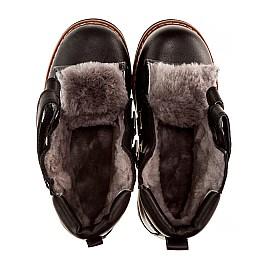 Детские зимние ботинки на меху Woopy Orthopedic черный для мальчиков натуральная кожа размер - (2005) Фото 5