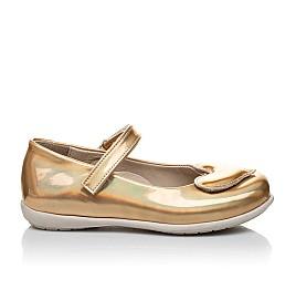 Детские туфлі Woopy Orthopedic золотые для девочек искуственная кожа размер 21-21 (2033) Фото 5