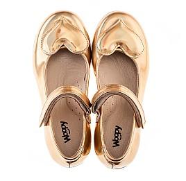 Детские туфлі Woopy Orthopedic золотые для девочек искуственная кожа размер 21-21 (2033) Фото 6