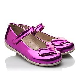 Детские туфлі Woopy Orthopedic розовые для девочек искуственный лак размер 21-21 (2034) Фото 1